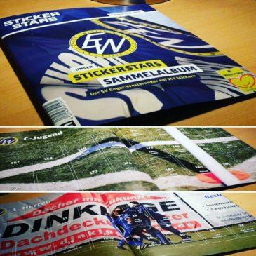 SVEW-Saisoneröffnung mit eigenem Sticker-Album & mehr!